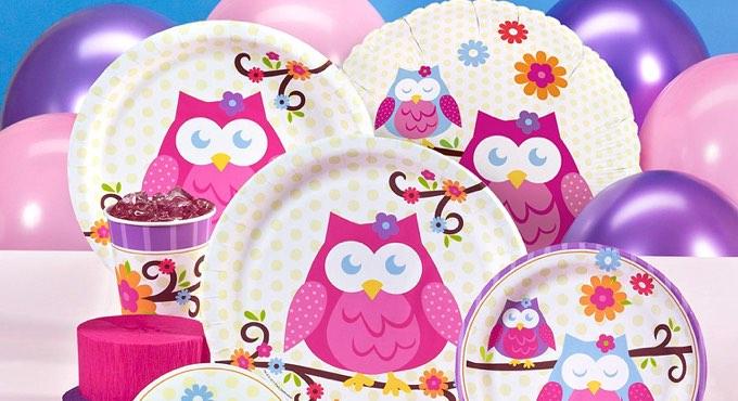 Owl Blossom Baby Shower